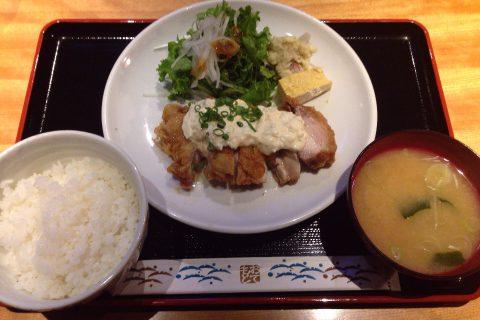 チキン南蛮定食 1,000円
