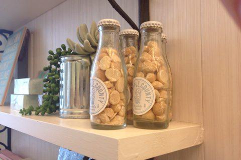 マカダミアナッツの瓶詰