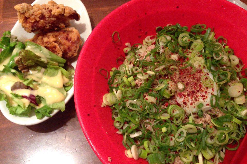 山椒汁なし担々麺