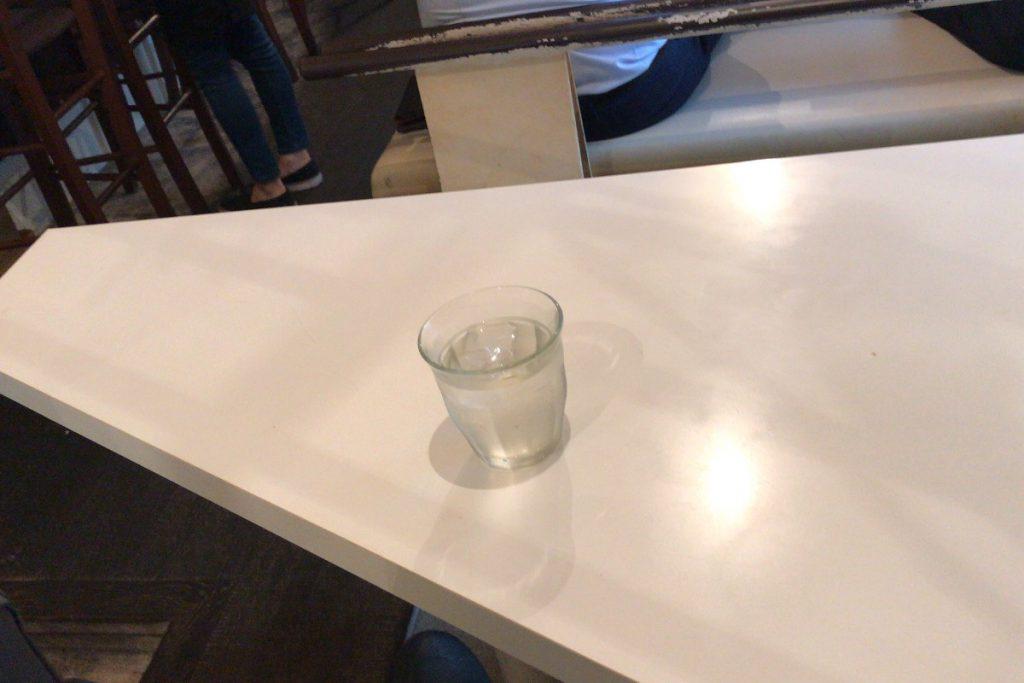 三角形のテーブル