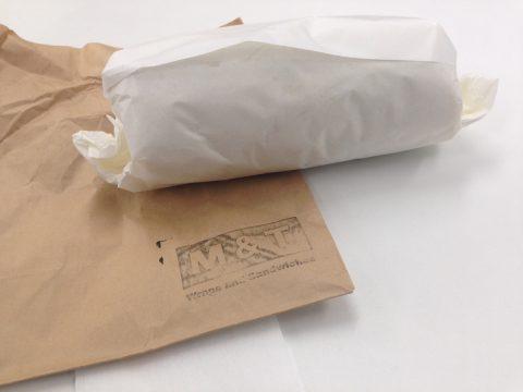 紙袋と包み紙